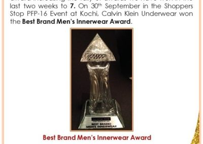 Best IW Brand Award